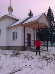Часовня в Русской Тече (18.12.2013)