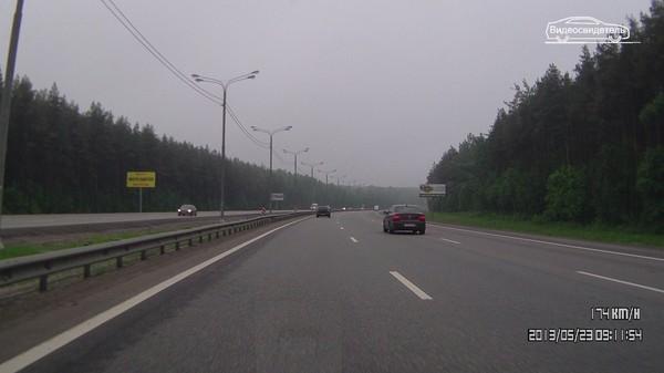 М4 Дон трасса скорость Московская область