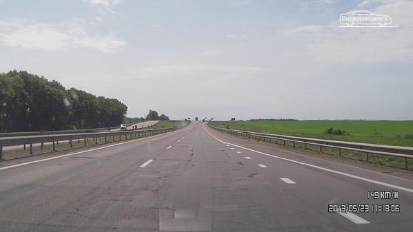 М4 Дон трасса скорость Тульская область Липецкая область состояние трассы