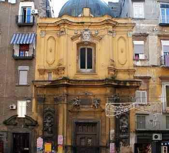 Conservatorio della Pietà dei Turchini была построена в 1583 году