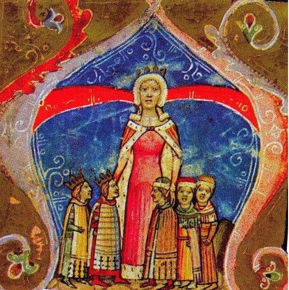 Эльжбета Польская, мать Андрея и Людовика Венгерского
