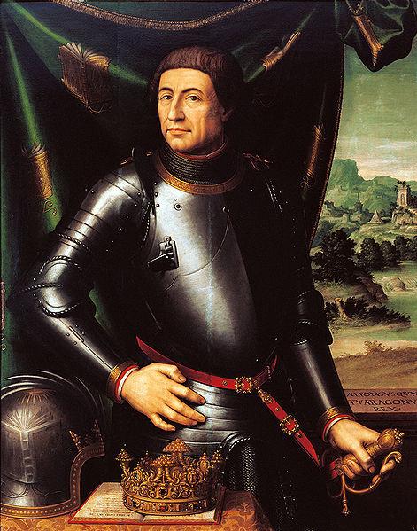 завещать корону Неаполя молодому арагонскому королю Альфонсо V