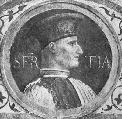 Muzio Attendolo Sforza (1369 - 1424)