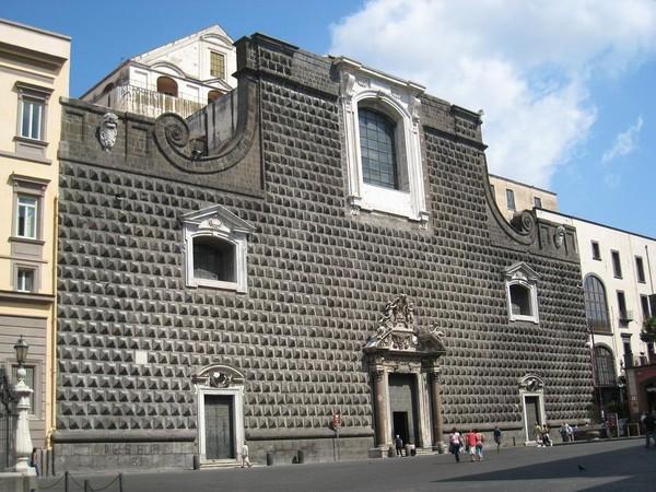 в неаполитанском дворце князя Салерно Сансеверино