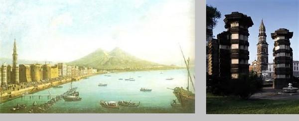 Форт Кармина – на старинном рисунке и современные остатки