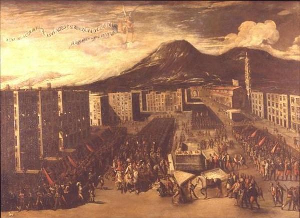 Капитуляция Неаполя перед Хуаном Австрийским (Carlo Coppola, 1648)