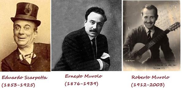 Эрнесто Муроло много стихов написал на музыку своего коллеги и тезки по фамилии Тальяферри