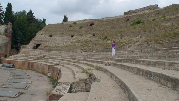 Амфитеатр Флавия был третьим по величине среди античных зрелищных