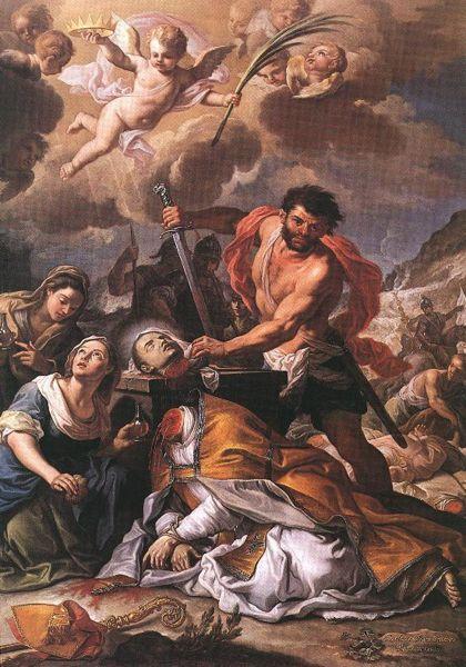 Сан Дженнаро отрубили голову