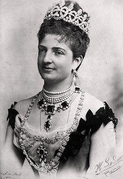 королева Маргарита Савойская посетили Неаполь