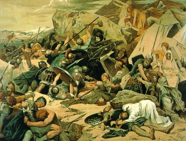 Точка в войне Византии с готами была поставлена в 553 год