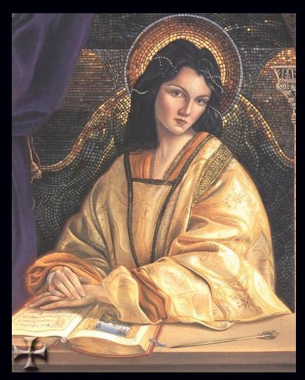 Дочка византийского императора Анна Комнин