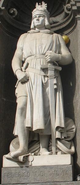 Фридриха II из рода Гогенштауфенов