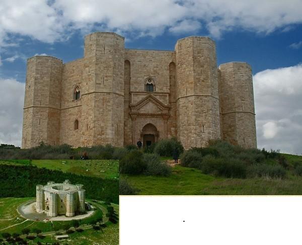 Это единственный восьмиугольный замок Европы