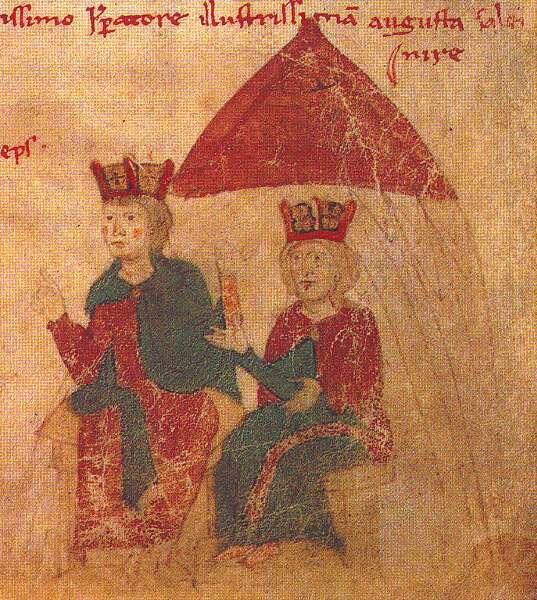 Генрих VI и Констанца