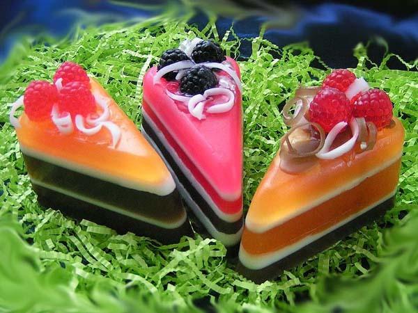 Мыльные тортики фото
