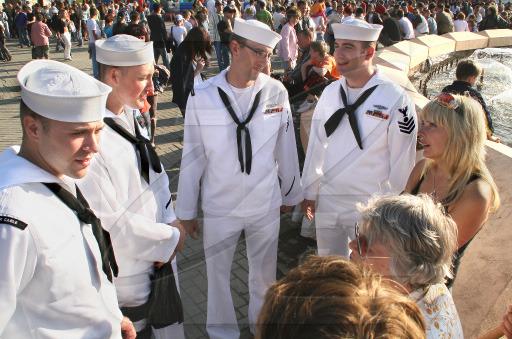 Подскажите как называется правильно бескозырка у американских моряков.