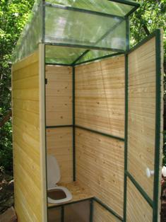 i 1234 Как самому поставить туалет на даче Фото