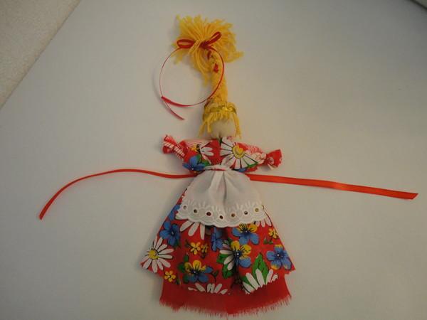 Кукла веснянка  мастер класс
