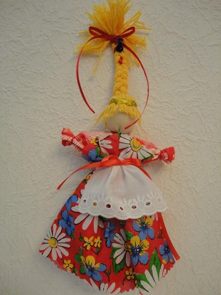 Кукла-веснянка своими руками 6