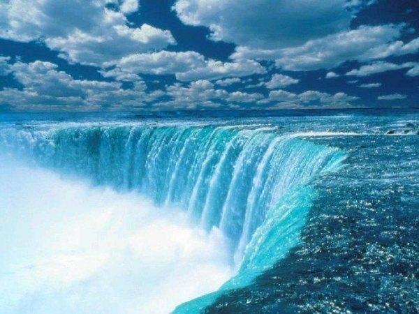 Самый красивый водопад можно с
