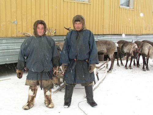 Фото Оленеводы.Жители тундры