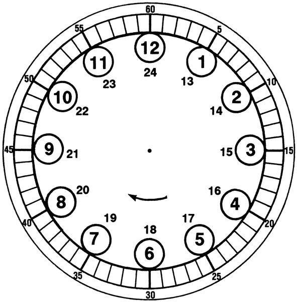 Как сделать часы для детей из картона 94
