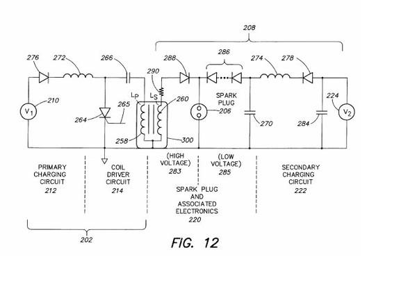 вот схема патента, лампочка у