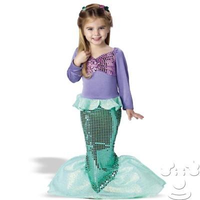 Костюм русалки для девочек