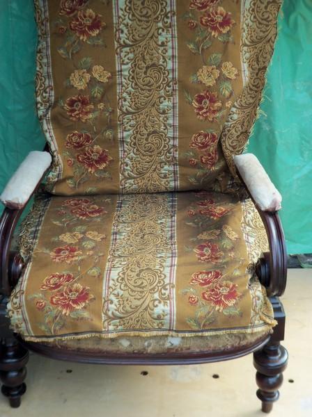 ткань для лицевой части кресла