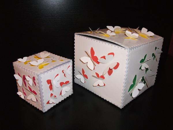 Как сделать большую подарочную коробку на день рождения