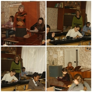Міська музично-теоретична олімпіада з сольфеджіо та музичної грамоти.