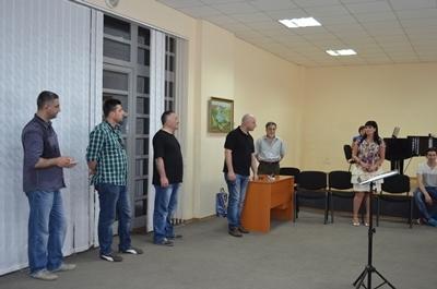 Творческая встреча коллективов