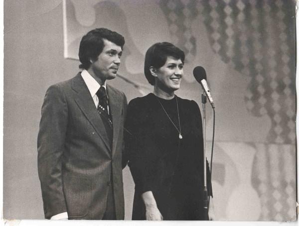 """Татьяна Коршилова, ноябрь 1976, """"С песней по жизни"""""""