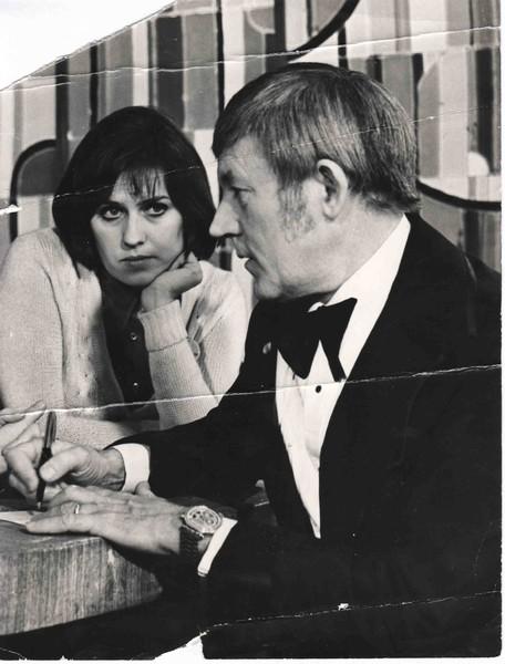 Татьяна Коршилова и Рей Конифф, 1976 г.