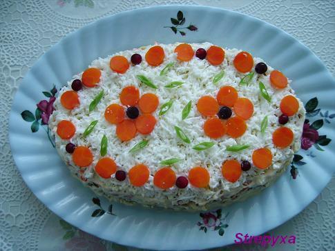 Салаты на день рождения со свеклой простые и вкусные рецепты