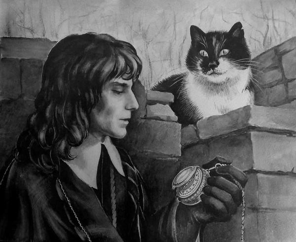 Фото кавалер с котом