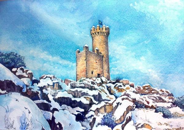 Фото сторожевая башня