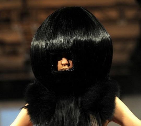 Смешные причёски женские