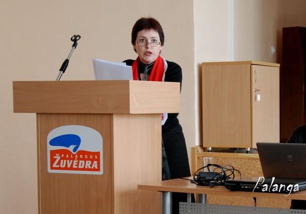 Вице - мэр в ВИСАГИНАСЕ Elena ČEKIENĖ
