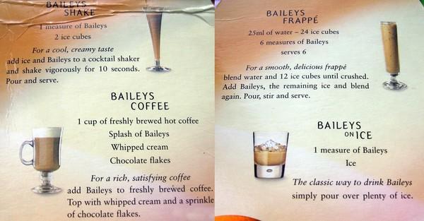 Коктейли с бейлиз рецепт