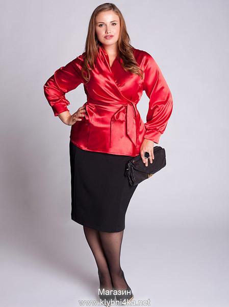 Подборка моделей офисной одежды для пышных красавиц