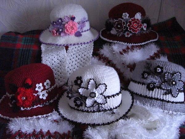 шляпки ерючком