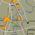 """Схема проезда центра раннего развития в Домодедово, адрес частного детского сада  """"Боровичок """", как проехать в школу..."""