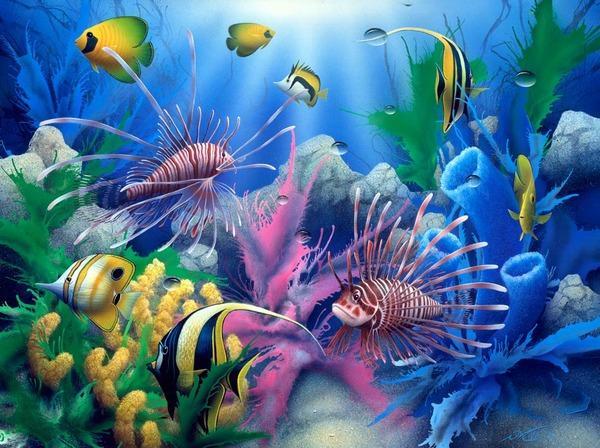 Сказочный подводныймир