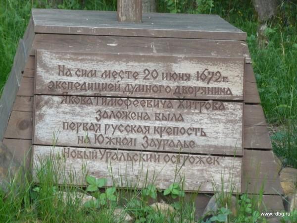 памятник Хитрову