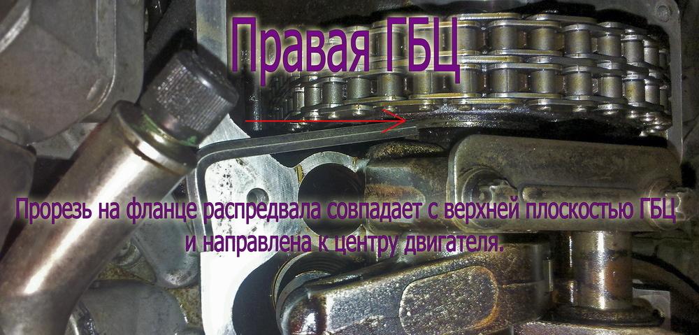 замена цепи грм двигателя мерседес 102 фотоотчёт