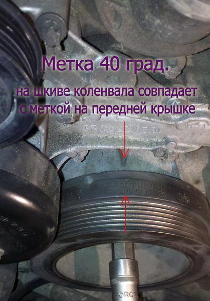метки грм мерседес 190
