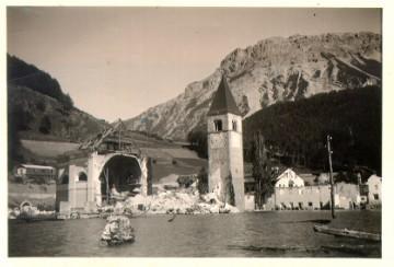 Башня до 1950 года
