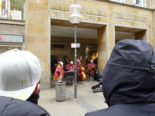 Уличные музыканты из Перу